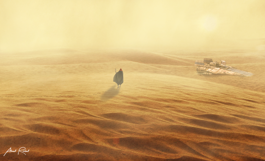 Sand storm by LeGiuS