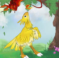 Of Catdogs and Chocobos