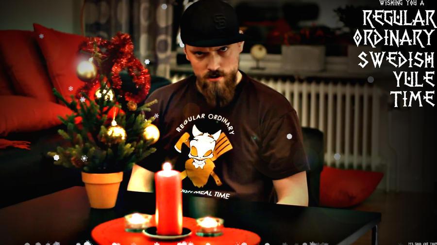 Regular Ordinary Swedish Meal Time Carrot Cake