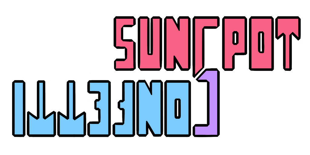 Sunspot Confetti Logo by DoggonePony