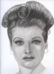 Lucille Ball by lbrown26