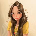 Stylized Study Portrait - Kimberly