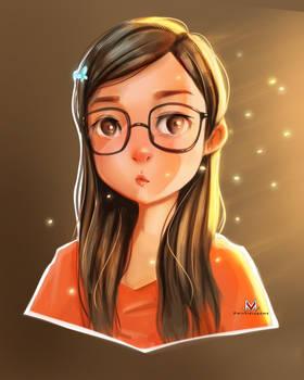Stylized Portrait - Anj