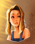 Stylized Portrait - Lovely