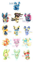 Meowstic Variations