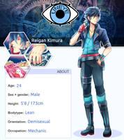 unEYE _Reigan Kimura by Evil-usagi