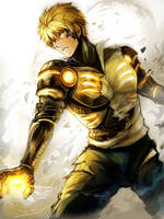One Punch Man - Genos by Evil-usagi