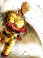 One Punch Man - Saitama by Evil-usagi