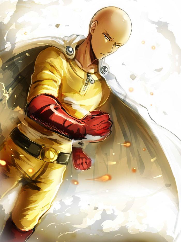 One Punch Man - Saitama by Evil-usagi on DeviantArt