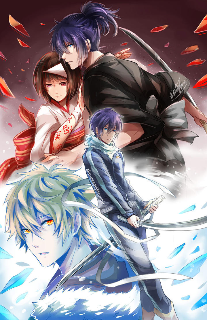 Noragami Aragoto by Evil-usagi