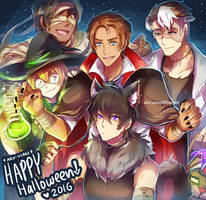 VLD - Happy Halloween :D by Evil-usagi