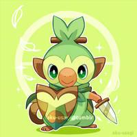 Pokemon Sword and Shield (Grookey) by Evil-usagi