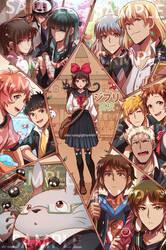 Ghibli Highschool by Evil-usagi