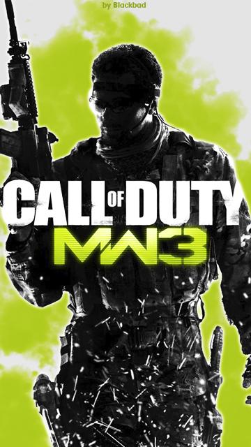Call Of Duty Modern Warfare 3 Wallpaper By Blackbad