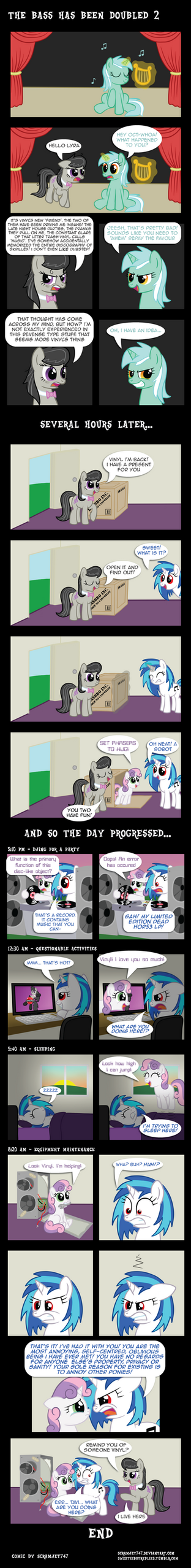 The Bass Has Been Doubled 2: Sweet(ie) Revenge by Scramjet747