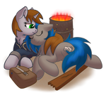 Littlepip and Homage