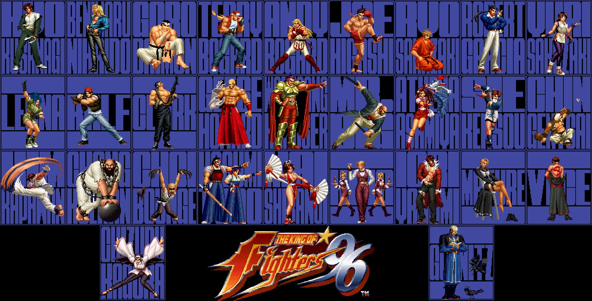 THE KING OF FIGHTERS 96 BLUE by Squall-Lawliet