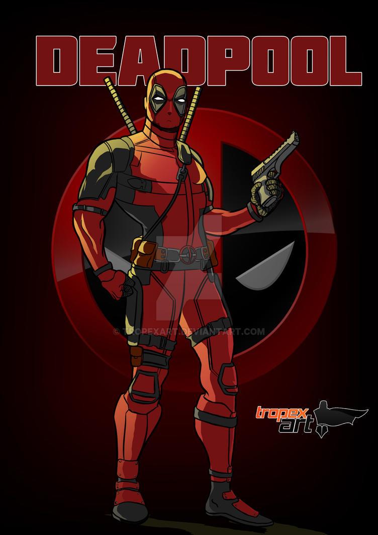 Deadpool A3 by Tropexart