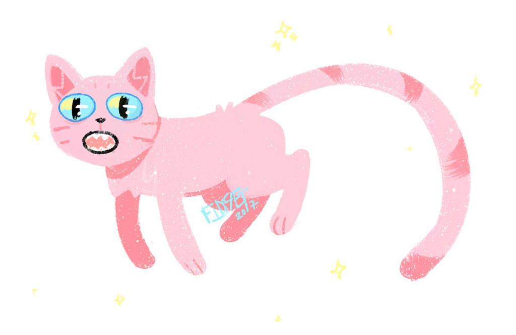 Dream cat by fid999et