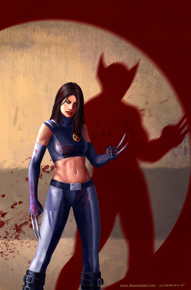 X-23 by SebastianDrewniok