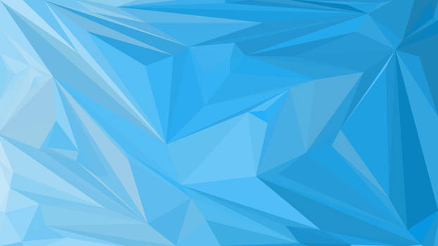 Abstract Low Poly Wallpaper #2 BLUE