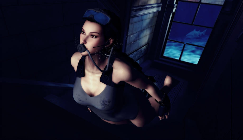 Lara_Croft_Dephts_of_Atlantic by ivedada