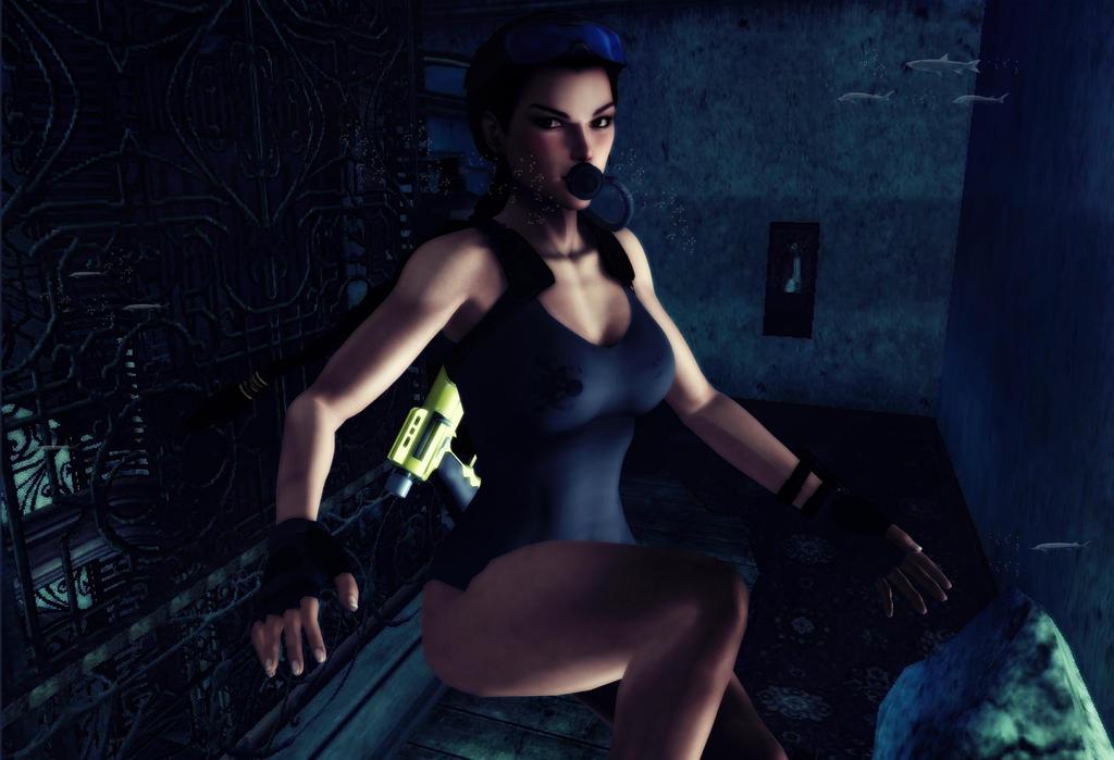 Lara_Croft_Deep_Mystery by ivedada