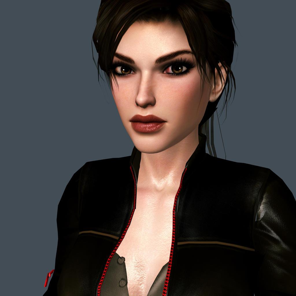 Lara_Croft_Close_Up by ivedada