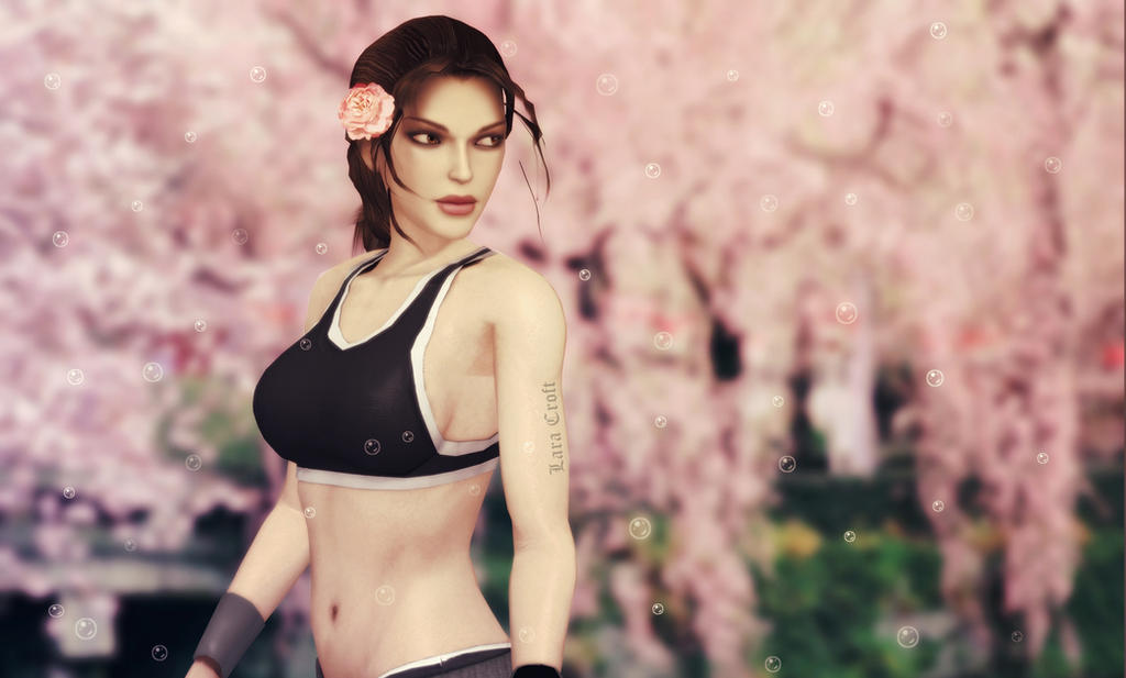 Lara_Croft_Cherry_Tree by ivedada