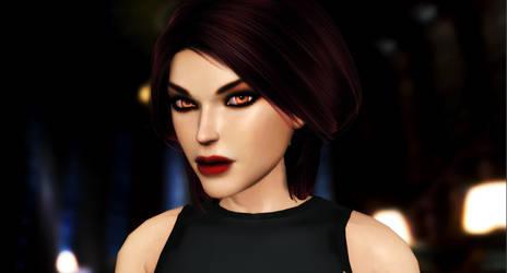 Lara_Croft_Library by ivedada
