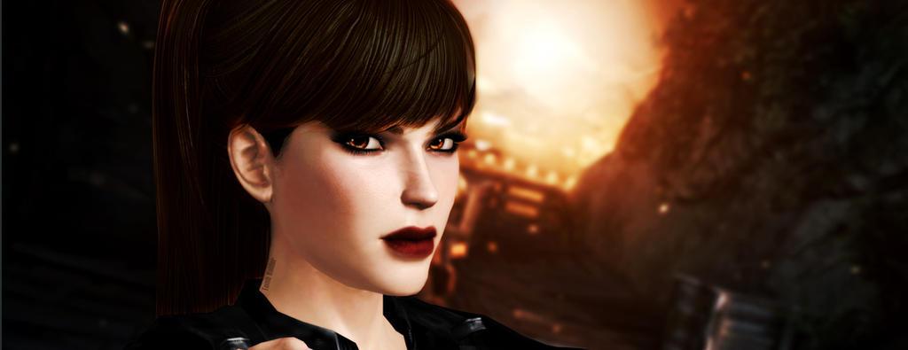 Lara_Croft_Ready by ivedada