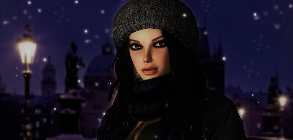 Lara_Croft_Prague by ivedada