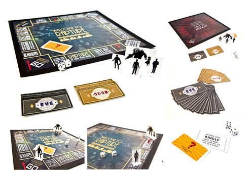 Bioshock Monopoly set