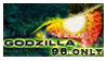 stamp: Godzilla 1998 ONLY by SimbiAni