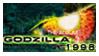 stamp: Godzilla 1998 by SimbiAni