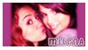 stamp: MiLENA - Miley + Selena by SimbiAni