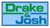 stamp: DRAKE and JOSH - logo by SimbiAni