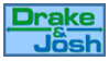 stamp: DRAKE and JOSH - logo by SimbiAni