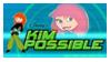 stamp: KiM POSSiBLE - logo by SimbiAni