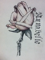 Stippled rose by ColemanInkArtworks