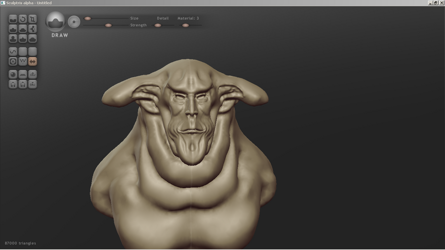 Lets make 3d sculp with this free app | NeoGAF