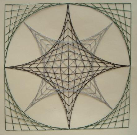 String art 1 by insider23 on deviantart for How to weave a net with string