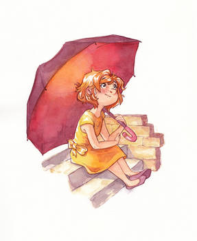 Umbrella  - Draw this in your style challenge