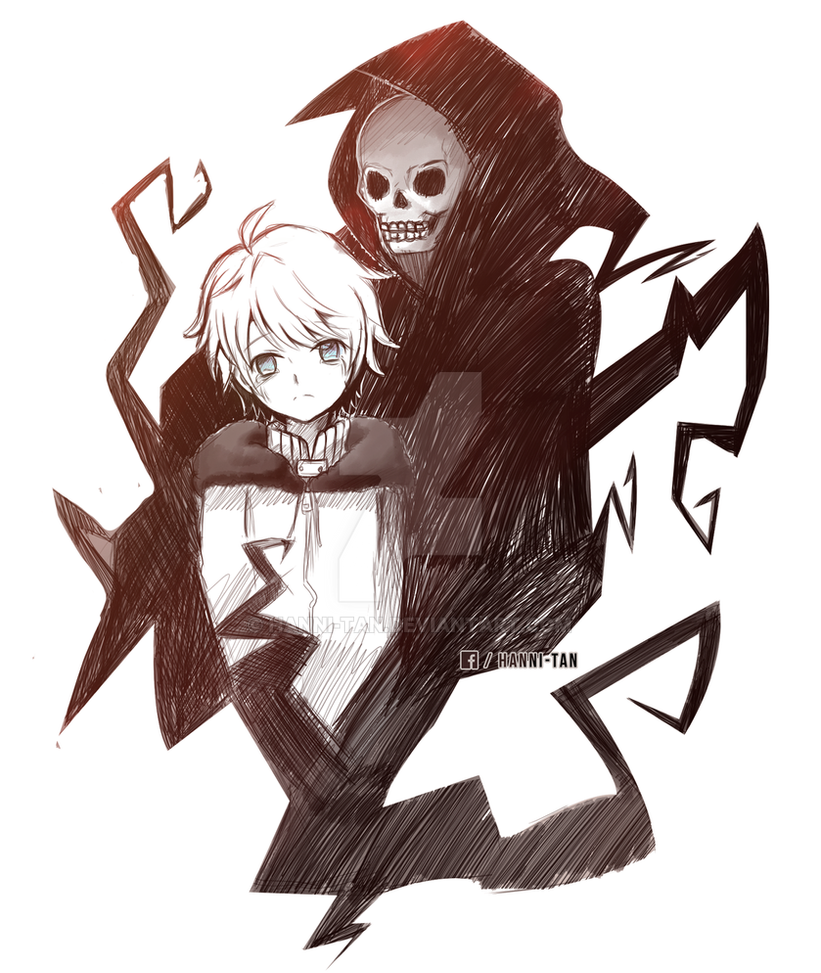 Kenny and Death by Hanni-Tan