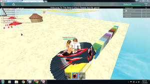 Playing Roblox with Swettiepie561