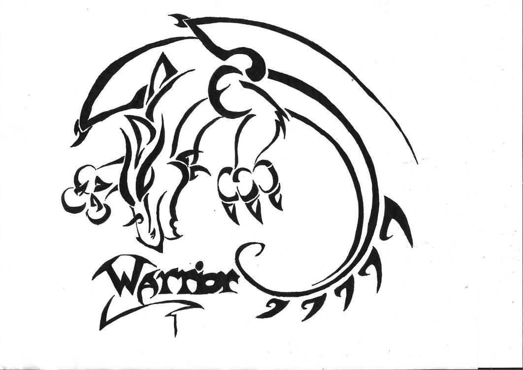 Warrior - shoulder tattoo