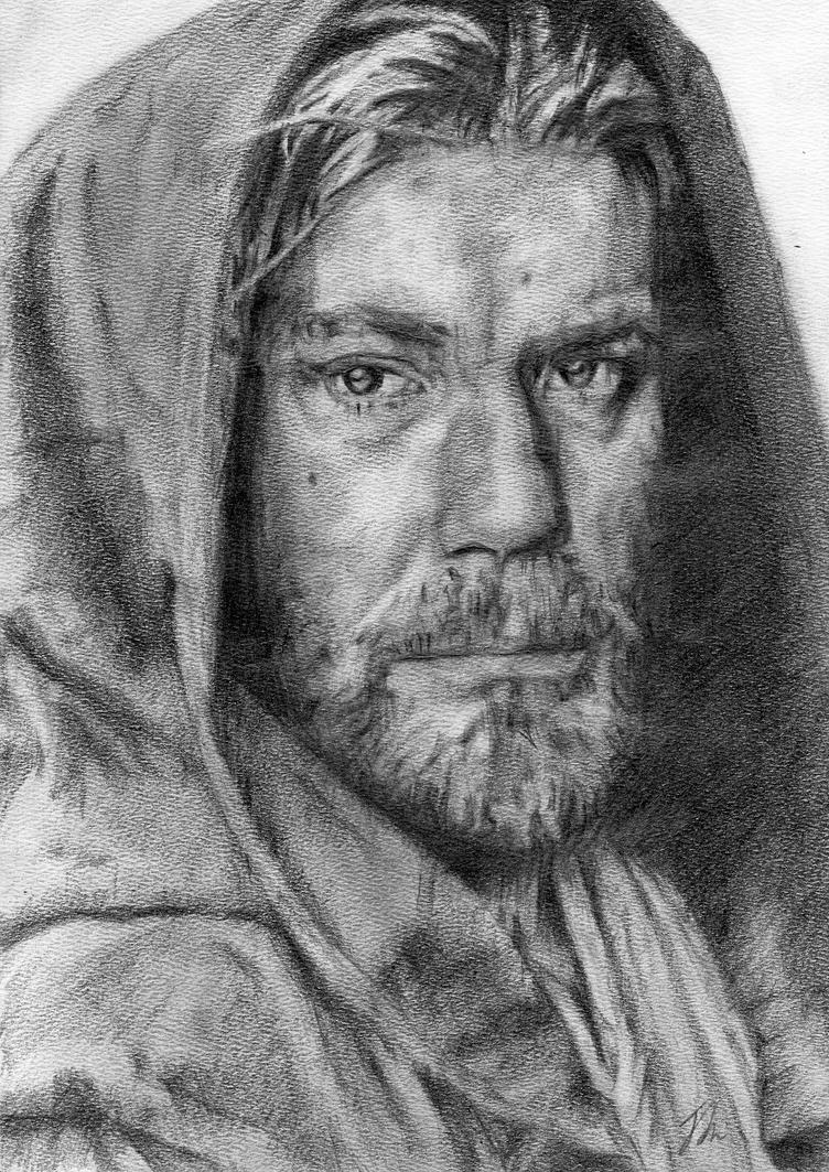 Obi-Wan Kenobi, Star Wars by LittleDragonZ