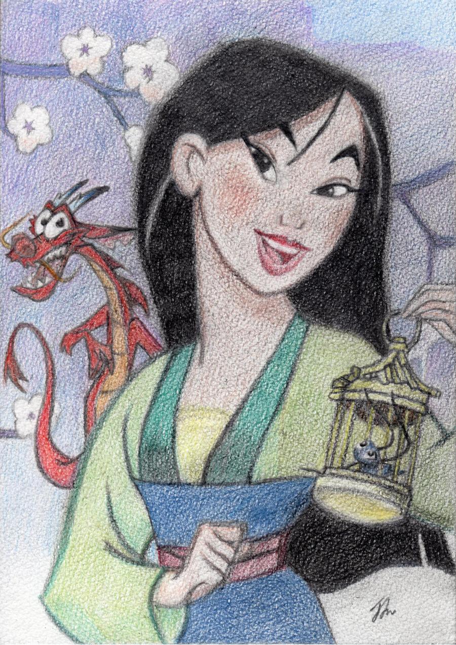 Mulan, Disney by Littl...