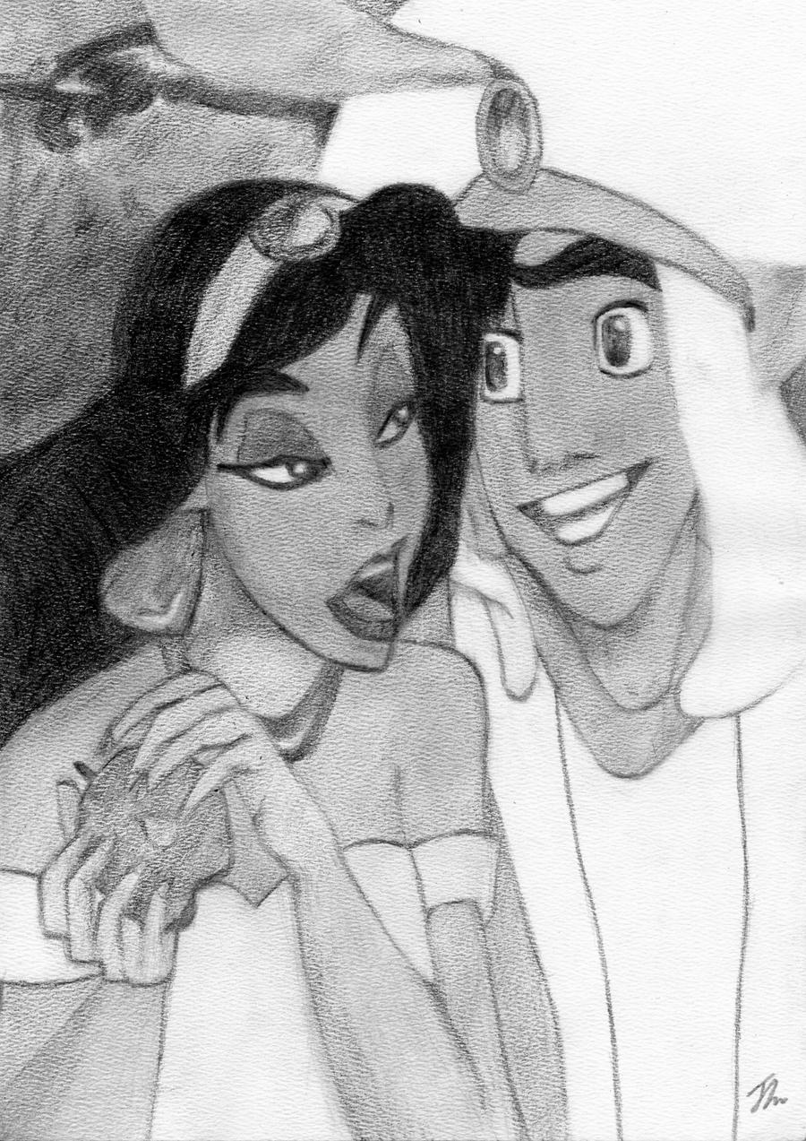 Aladdin, A Whole New World by LittleDragonZ on deviantART