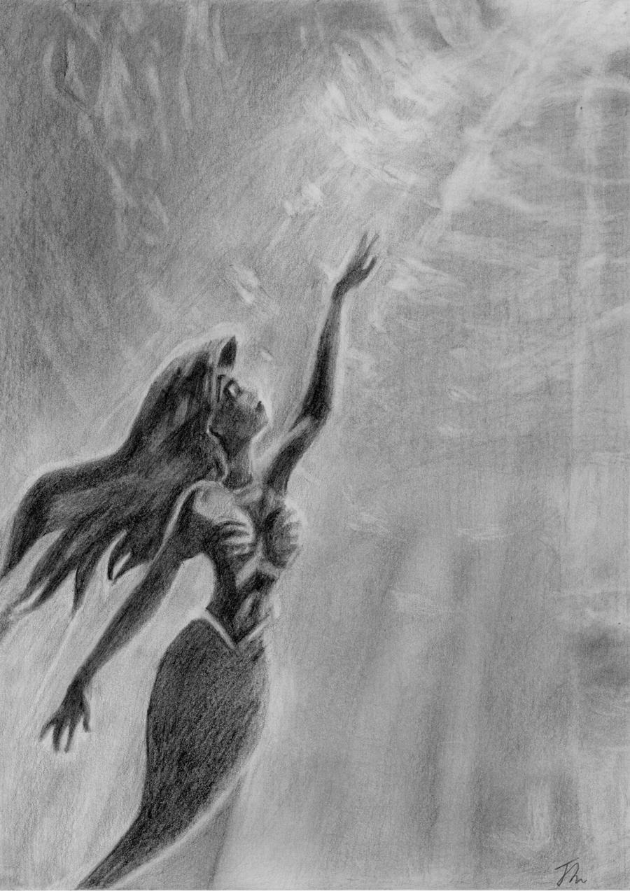 the little mermaid disney by littledragonz on deviantart